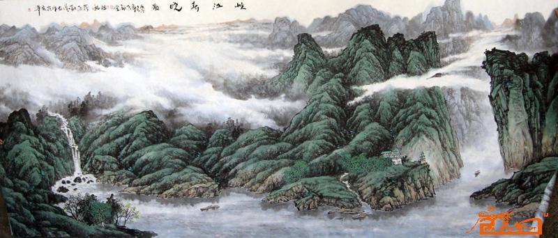 名家 李福堂 国画 - 2.1m*5m